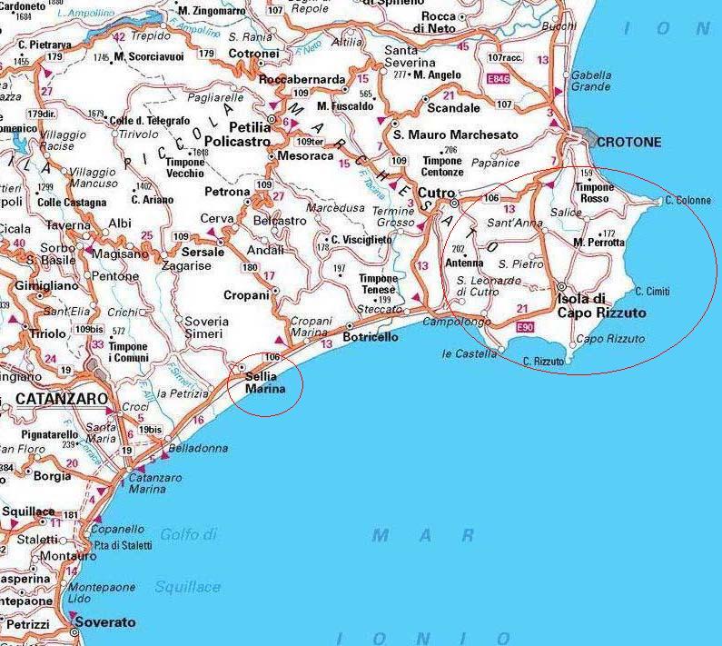 Cartina Calabria Sellia Marina.Cartina Calabria Sellia Marina Pieterduisenberg